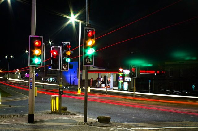 incrocio con semafori